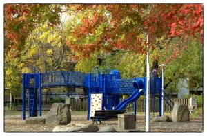 Le parc bleu